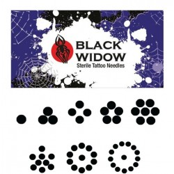 Round Liner Black Widow